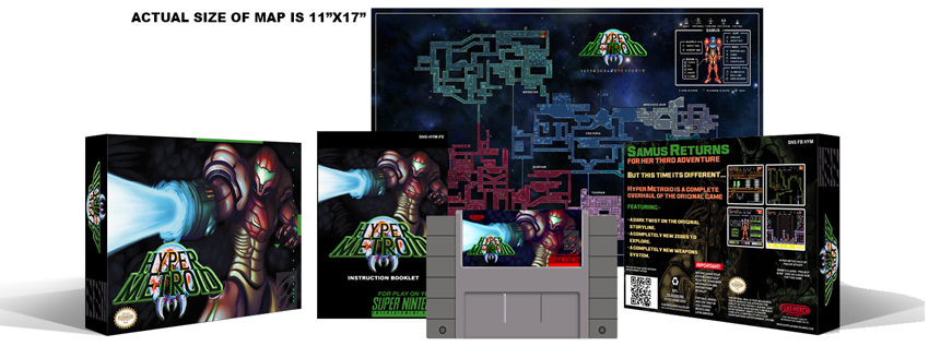 Hyper Metroid Complete Box Set