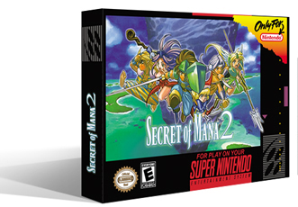 Secret of Mana 2 Box